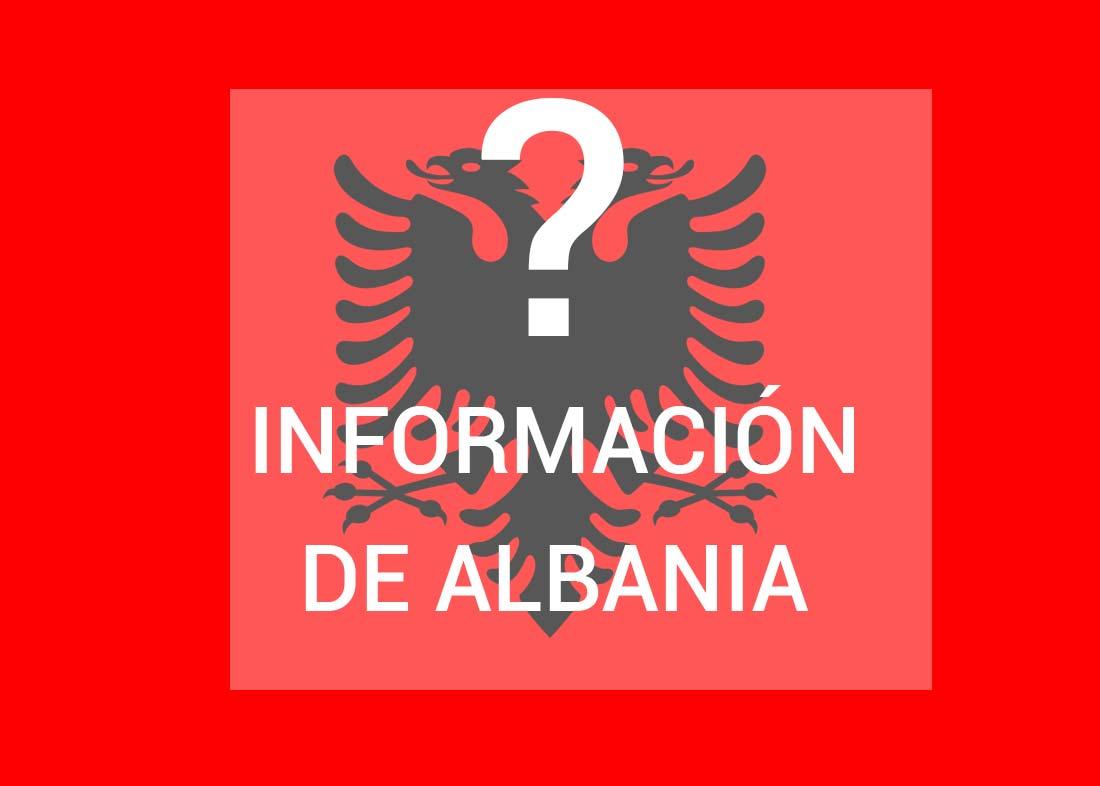 Información de Albania