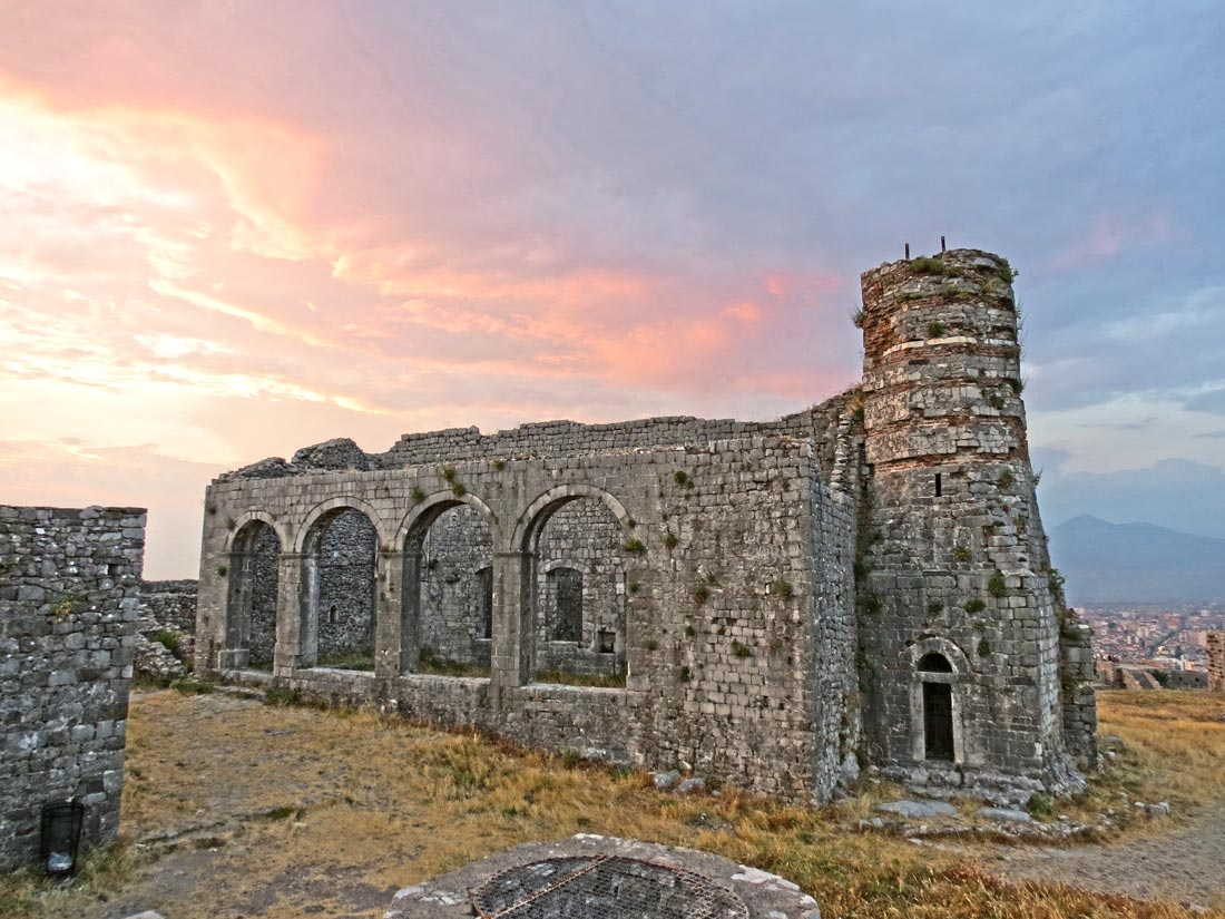 Castillo de Rozafa en Shkodër