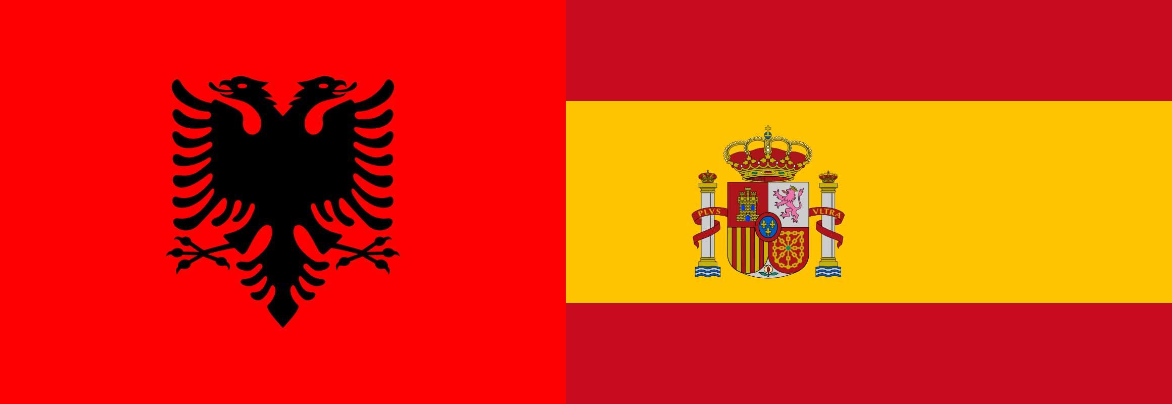 Embajada de Albania en España, y de España en Albania