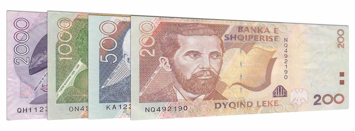 Lek, moneda oficial de Albania
