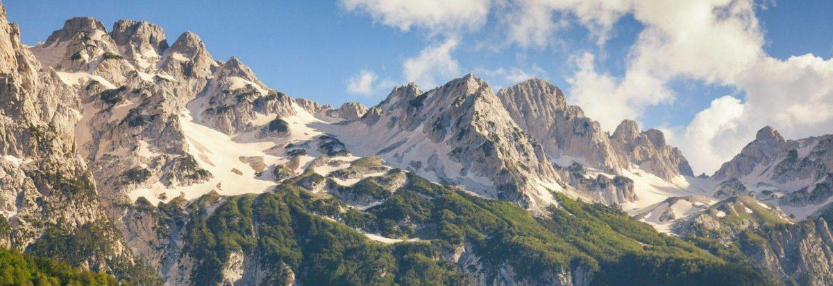 Montañas de Albania