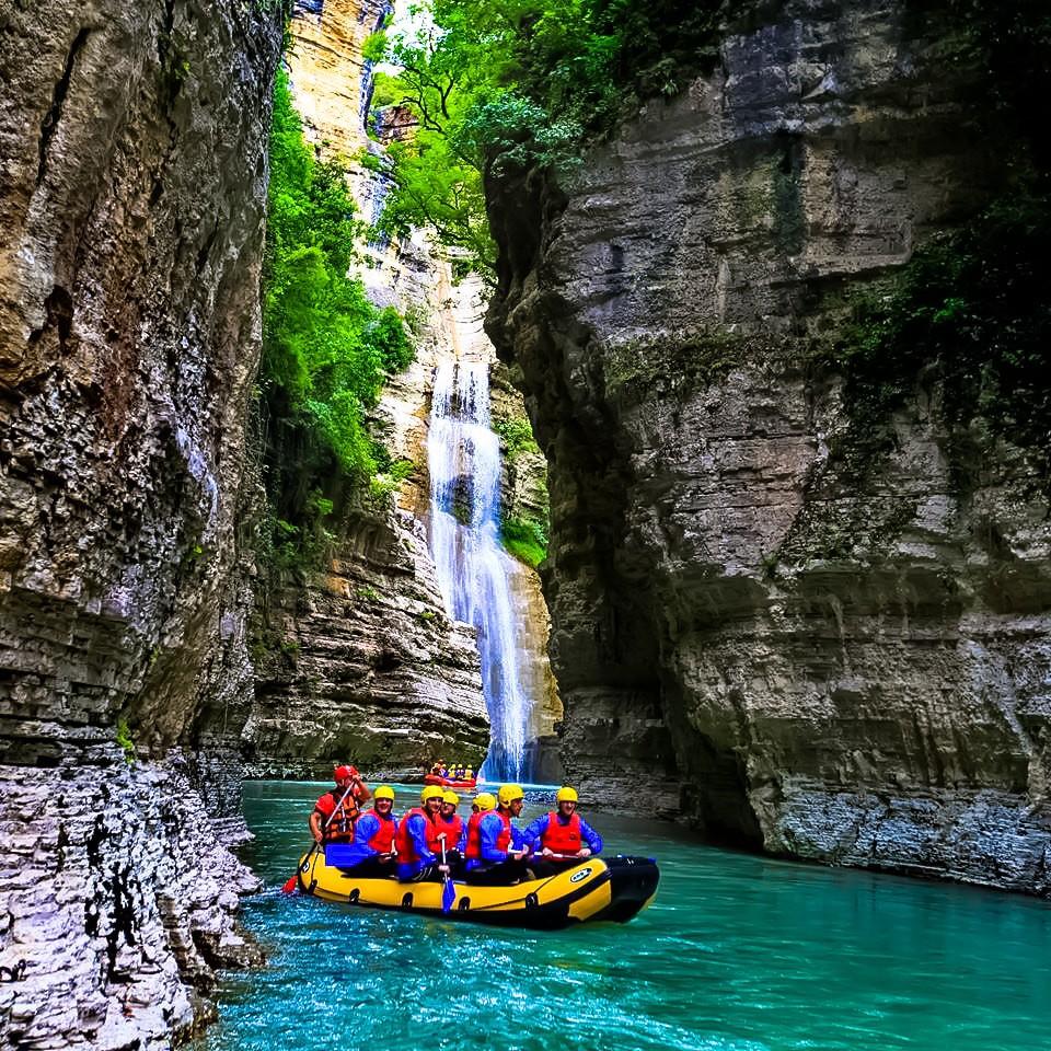 Foto del Rafting en el cañón de Osumi - ©Trip&Travel Blog/Flickr