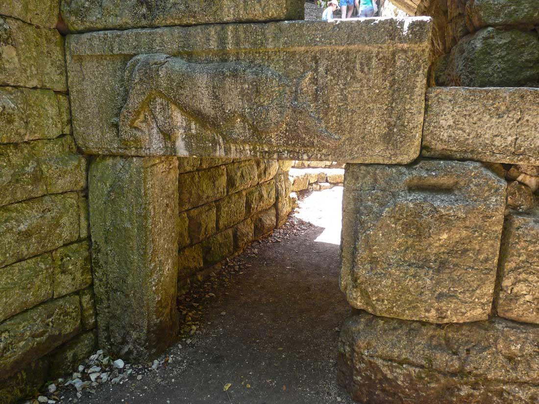 Puerta del León en Butrint