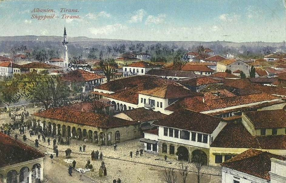 Tirana antes de 1914