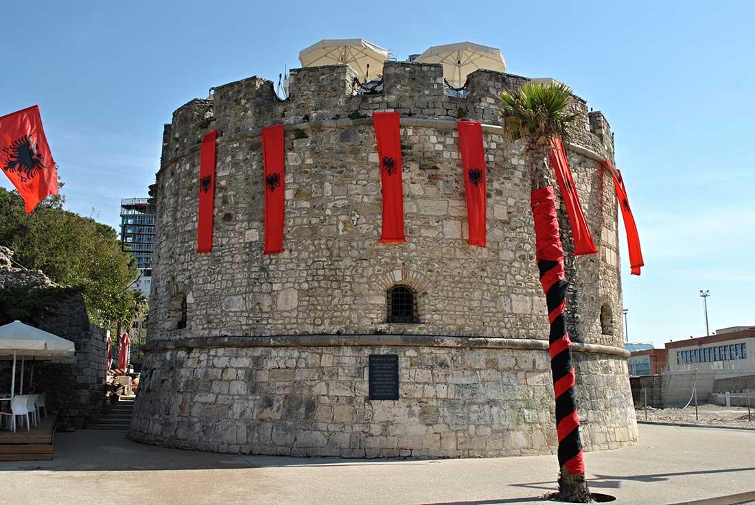 Torre veneciana en Dürres