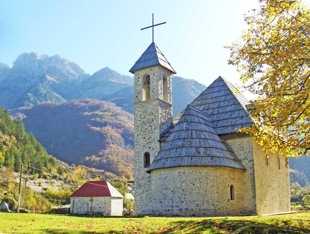 Iglesia de Theth